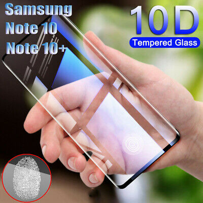 For Samsung Galaxy Note 10 10 Plus 10D Curved Tempered Glass Screen Protector