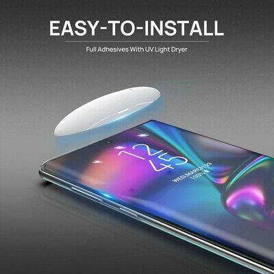 Samsung Galaxy Note 10 Plus Screen Protector Tempered Full Cover UV Glue Glass