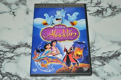 Walt Disney - Aladdin - Special Platinum Edition (2-Disc DVD Set, 2004)