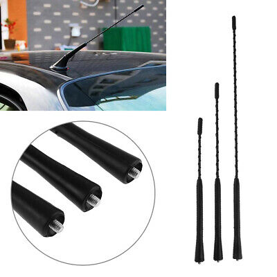 Radio Screw AM/FM Universal Modified Antenna Car Antenna Auto Roof  Aluminum