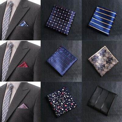 Fashion Floral Satin Paisley Hankies Men handkerchief embroidery Chest Towel