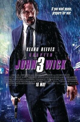 JOHN WICK:CHAPTER 3 PARABELLUM(BLU-RAY+DVD) No DIGITAL CODE