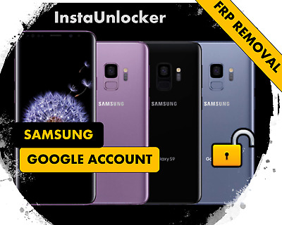 Remote Google Account Bypass Removal, Reset Unlock FRP SAMSUNG S10 S10+ S10e