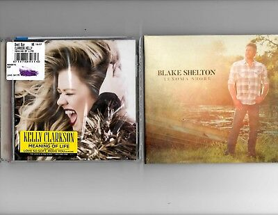 Blake Shelton Texoma Shore & Kelly Clarkson Meaning Of Life Brand New The Voice