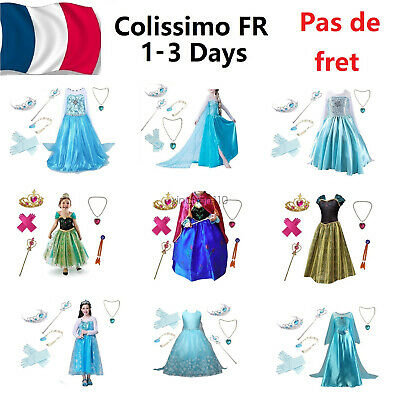 Enfants filles princesse robe fantaisie mignon dress up costume enfant cosplay