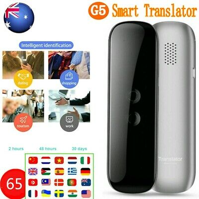 2019 Voice 65Languages Translator Translaty MUAMA Enence Smart Instant Real Time