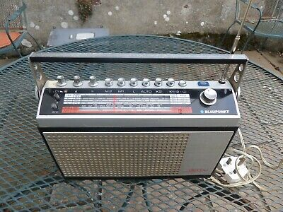 Blaupunkt Derby Commander radio. Good condition and working. Mains operated.