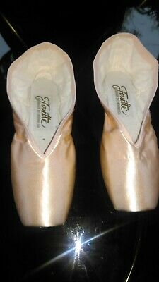 NEW - Grishko Fouette Pointe Shoes 7.5UK / X / Medium Shank