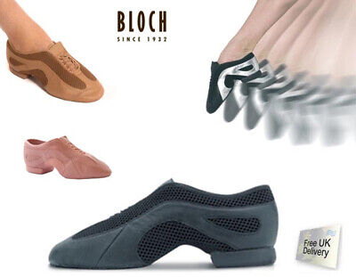 BLOCH Slipstream Split Sole Pull On Jazz Shoes (S0485) - NEW