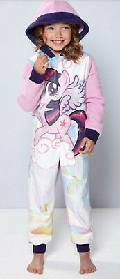 Girls My Little Pony Sparkly pyjamas 3-4 Years Kids Toddlers Novelty Official
