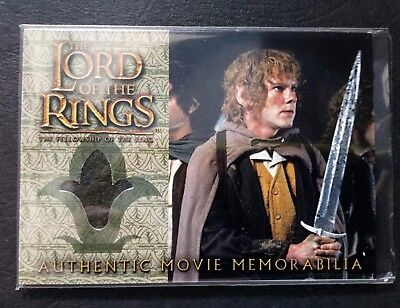 """LOTR Fellowship Of The Ring """"Merry's Travel Coat"""" (Dominic Monaghan) Pieceworks"""