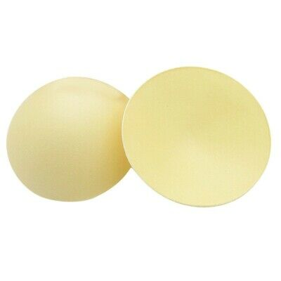 Pack of 3 Pairs Nude Reusable Breast Pads B cup Insert / sew on Pads