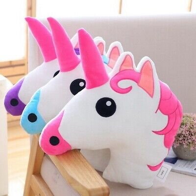 Magical Unicorn Cushion Bedroom Decor Girls Large Animal Shape Pillows Lldty