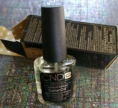 Cnd Special Edition Solar Oil Full Size BNIB, gorgeous scent