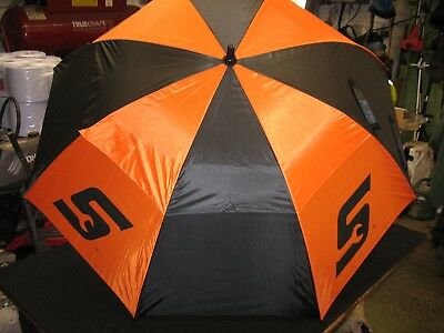 Snap On Tools Orange Umbrella With Soft Grip Screwdriver Handle  Brand New