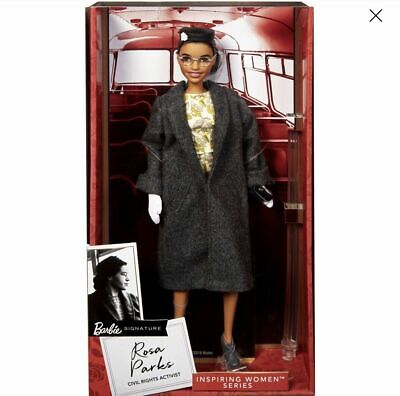 BARBIE Rosa Parks Doll IN HAND READY TO SHIP  Inspiring Women Collection 2019