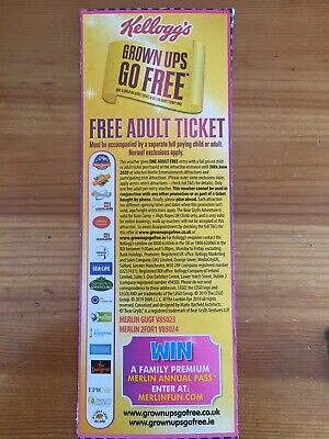 Kellogg's Grown Up Go Free Entry 2 For 1 Voucher