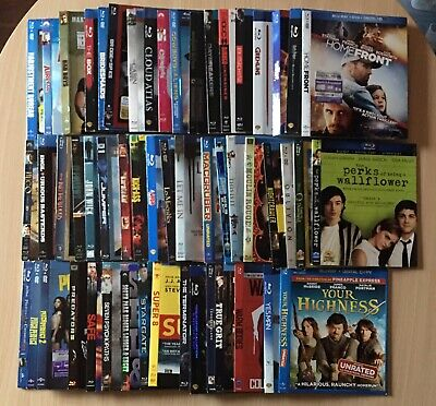 50+ Used Blu-ray Slipcover Lot: Only Slipcovers Included