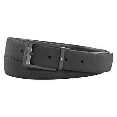 Montblanc Black Cut-to-Size Casual Belt