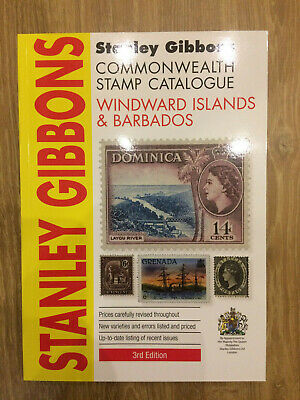 Windward Islands & Barbados Stanley Gibbons Stamp Catalogue 3rd Edition A
