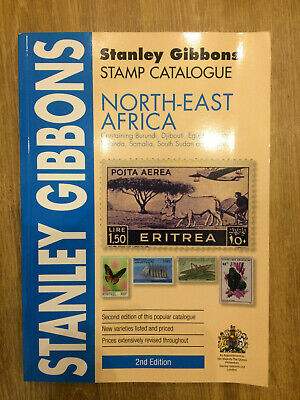 North East Africa Stamp Catalogue 2nd Edition Stanley Gibbons A