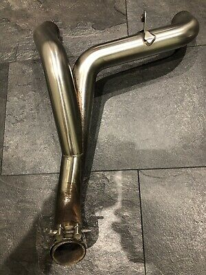 Triumph Speed Triple R 1050 Exhaust Link Pipes For ARROW cans 2012-2015