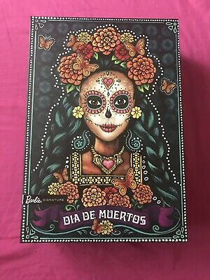 Barbie Dia De Los Muertos Doll 2019 Day of The Dead Barbie  Mattel. New In Hand!