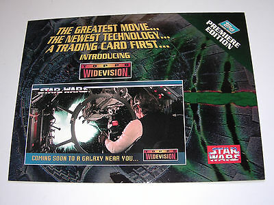 STAR WARS - Topps Widevision Uncut Promo Card - 1994