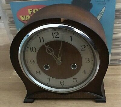 Beautiful Vintage Smiths Striking Mantle Clock