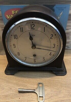 Smiths Enfield Bakelite Mantle Clock Spares Or Repairs