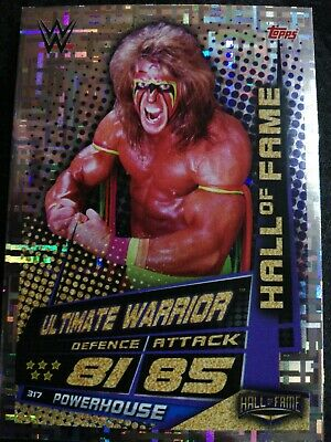 Ultimate Warrior HALL OF FAME Slam Attax Universe Card