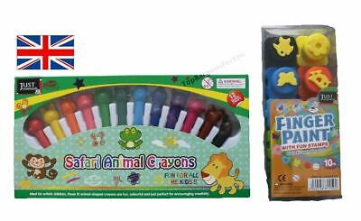 Finger Paint Pots,Stamp,Crayons Minnie Mouse Craft Egg Painting Craft Set
