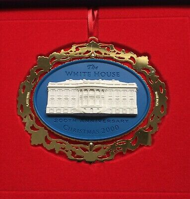The White House Historical Association Christmas Ornament 2000 200th Anniversary