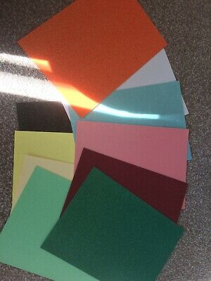 A4 Glitter Card 10 Pieces Variety Of Colours And Thickness