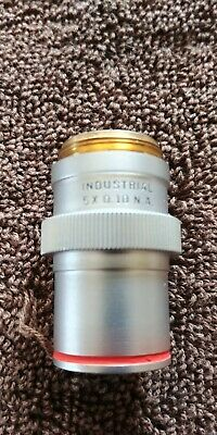 Bausch & Lomb Industrial 5X 0.10 N.A Objective Beautiful !