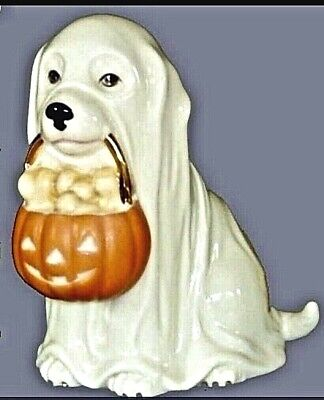 Lenox GHOSTLY PUP PORCELAIN HALLOWEEN FIGURINE New in Box CUTE DOG
