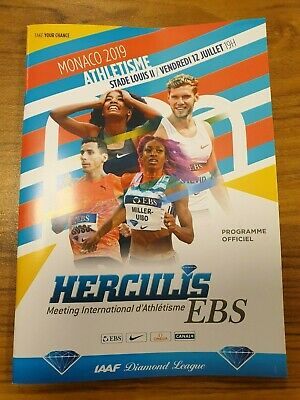2019 Herculis EBS Programme: Athletics/Track & Field: IAAF Diamond League