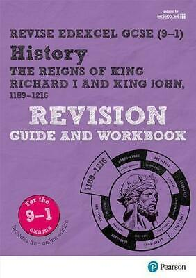 Revise Edexcel GCSE (9-1) History King Richard I and King John Revision Guide an