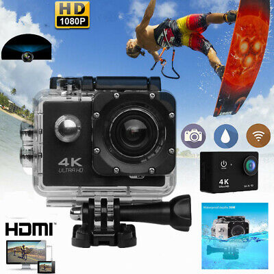 Ultra HD 1080P Action Sports Camera Waterproof WiFi DVR Action Video Camcorder