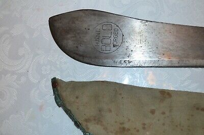 Vintage Bolo Hand Forged Machete Made In Japan
