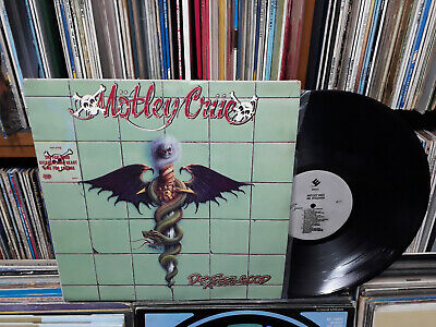 MOTLEY CRUE - DR.FeelGood KOREA LP.Black Back Cover.MT 27
