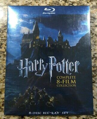 Harry Potter: Complete 8-Film Collection (Blu-ray 2011, 8-Disc Set) NEW SEALED