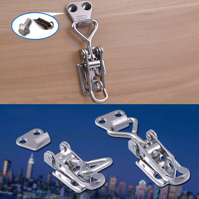 Chest Toggle Lock Spring Loaded Metalworking Trunk Latch Adjustable Box Clamp