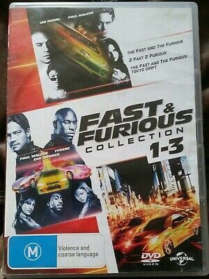 The Fast and the Furious / 2 Fast 2 Furious / The Fast and the Furious: Tokyo D…