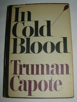 IN COLD BLOOD 1st Edition 1st Printing Paperback 1965 Truman Capote RARE!