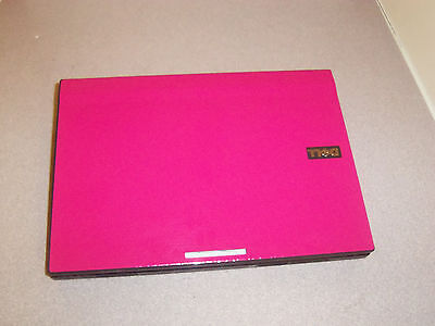 TOUCH SCREEN HOT PINK FAST Slim WIN7 WIDE SCREEN WEBCAM,DUAL CORE1.6GHz,2G,160G