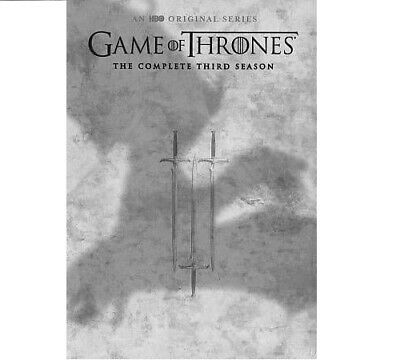 Game of Thrones The Complete Third Season on DVD