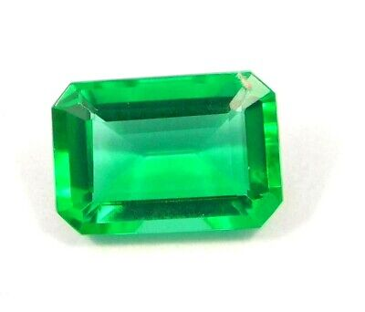 Treated Faceted Emerald Gemstone 13CT 16x11mm NG16074