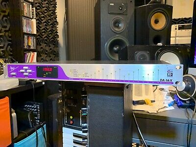 Apogee DA-16X 16-Channel 192kHz Reference D/A Converter ADAT AES/Pro Tools X-HD