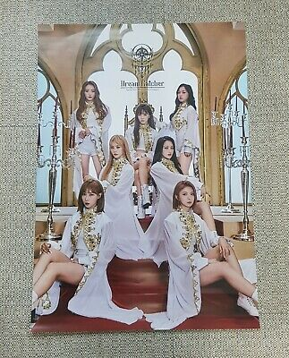 K-POP DREAMCATCHER Special Mini Album [Raid of Dream] OFFICIAL POSTER -NEW-